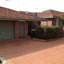 Rental info for HOME OPEN MONDAY 18/9 @ 4- 4.15PM