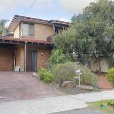 Rental info for WONDERFUL 3X1 TOWNHOUSE IN FANTASTIC LOCATION!! in the Mount Hawthorn area