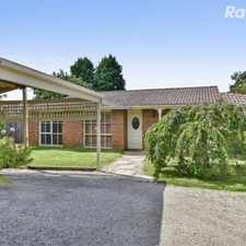 Rental info for UNDER APPLICATION! in the Ferntree Gully area