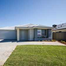 Rental info for BRAND NEW FAMILY HOME WITH GRANNY FLAT/TEENAGE RETREAT in the Piara Waters area