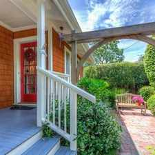 Rental info for Classic 1920's San Anselmo Gem. Parking Available!