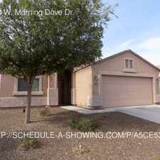 Rental info for 12028 W. Morning Dove Dr.