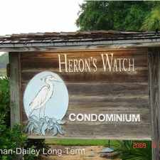 Rental info for 34 Herons Watch Way Unit 5205 Herons Watch