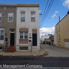 Rental info for 3808 Mt. Pleasant Ave. in the Baltimore Highlands area