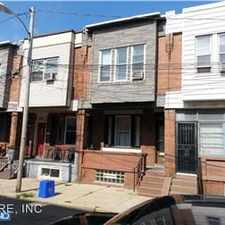 Rental info for 1434 S. Etting Street in the Point Breeze area