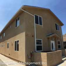 Rental info for 6817 S San Pedro St in the CANNDU area
