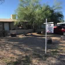 Rental info for Secluded North-East: JUMBO 3 Bedroom, 2 Bathroom, Separate Garage or Man-cave; Bl. walls rear in the Tucson area