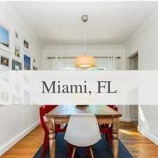 Rental info for Cozy And Charming 3/2 With Natural Wood Floor A... in the Coral Gables area