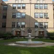 Rental info for 917-925 Hinman in the Evanston area