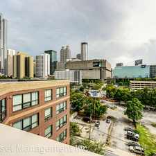 Rental info for 115 W. Peachtree Place NW #519 in the Centennial Hill area