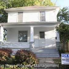 Rental info for 1631 28th Ave. in the Moline area