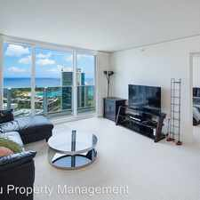 Rental info for 1288 Kapiolani Blvd., #4305 in the Honolulu area
