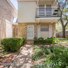Rental info for 6718 Callaghan Rd Unit 107 in the Oak Hills area