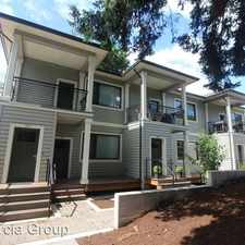 Rental info for 8905 N. Edison Street - Unit 202 in the Linnton area