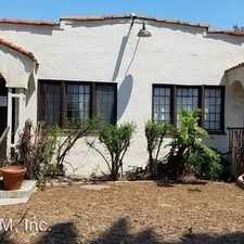Rental info for 2428 S Dunsmuir Ave in the West Adams area