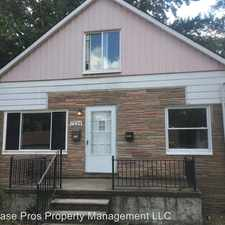 Rental info for 7224 Westminster Ave in the Warren area