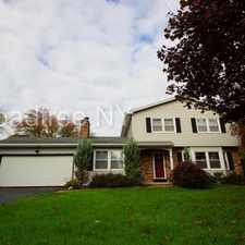 Rental info for Spacious Fairport colonial with great floor plan at 31 Waterford Way!