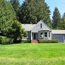 Rental info for 10116 SW 53RD AVE in the West Portland Park area