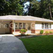 Rental info for Cute Bungalow in Pine Hills in the Atlanta area