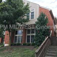 Rental info for Spacious 3 Level Condo in Thriving Walnut Hills! in the Cincinnati area