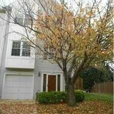 Rental info for End Unit Townhome
