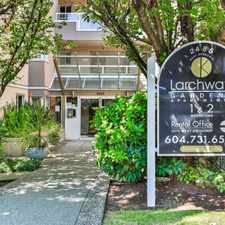 Rental info for Larchway Gardens in the Kitsilano area