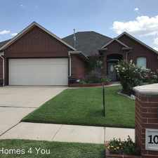 Rental info for 10632 NW 40th Street in the Yukon area