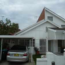 Rental info for LARGE SEMI IN THE HEART OF BONDI! in the North Bondi area