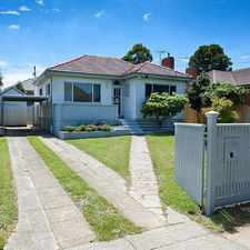 Rental info for SPACIOUS FAMILY LIVING IN A PARK SIDE POSITION in the Bundoora area