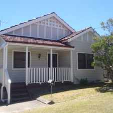 Rental info for LOVELY FAMILY HOME IN MAYFIELD! in the Newcastle area