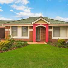 Rental info for STREET FRONT VILLA OVERLOOKING PARK in the Perth area