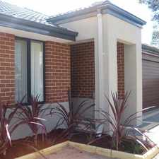 Rental info for 3 BEDRROOM, 2 BATHROOM HOUSE! in the Perth area