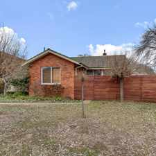 Rental info for Three Bedroom Home in Inner North in the Canberra area