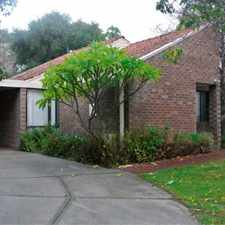 Rental info for 2 x 1 REAR VILLA IN QUIET COMPLEX. GREAT SOUTH PERTH LOCATION CLOSE TO ANGELO STREET!