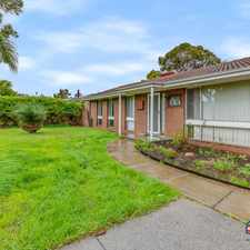 Rental info for CONVENIENTLY LOCATED in the Armadale area
