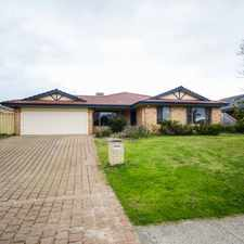 Rental info for PRICE JUST REDUCED, HUGE ENTERTAINMENT AREA! in the Perth area