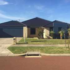 Rental info for QUALITY FAMILY HOME in the Baldivis area