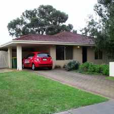 Rental info for FEEL SAFE AND SECURE IN THE HOME CLOSE TO EVERYTHING!!! in the Warnbro area