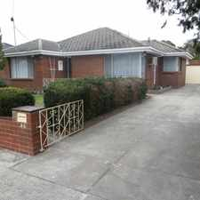 Rental info for RENOVATED HOME WITH SPACIOUS LIVING in the Melbourne area