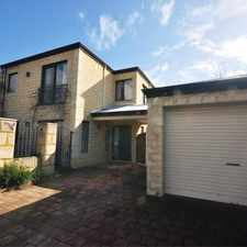 Rental info for FABULOUS TWO STOREY HOME IN THE HEART OF NORTH PERTH!!