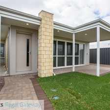 Rental info for Baldivis - 4x2 House - $360 P/W in the Perth area