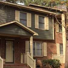 Rental info for 104-G Terrace Drive in the Raleigh area