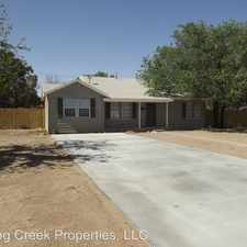 Rental info for 4406 18th Street in the Lubbock area