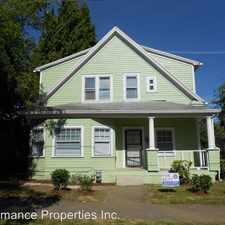 Rental info for 4624 NE Cleveland Avenue in the Humboldt area