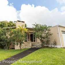 Rental info for 44 Mamalahoa Pl in the Honolulu area