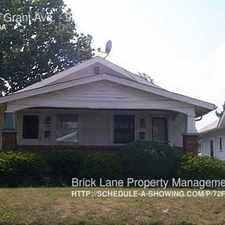 Rental info for 936 N Grant Ave. in the Indianapolis area