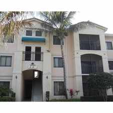 Rental info for 2729 Anzio Court #301 in the Palm Beach Gardens area