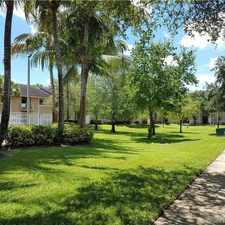Rental info for 3271 Sabal Palm Manor #207 in the Davie area
