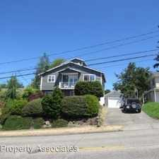 Rental info for 4126 SW Thistle St