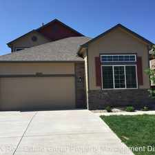 Rental info for 6045 Santo Domingo Rd. in the Security-Widefield area